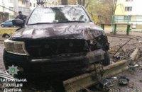 В Днепре пьяный водитель врезался в электроопору (ФОТО)