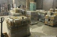 В Днепре разоблачили склад с фальшивым алкоголем, который продавали в торговых точках