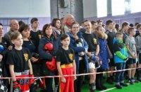 В Каменском провели турнир по казацким поединкам