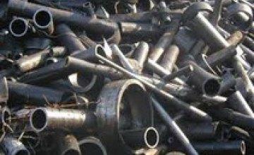 Криворожский девятиклассник пытался украсть 70 кг металлолома