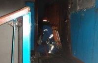 На Днепропетровщине мужчина пострадал во время пожара в многоэтажке (ФОТО)