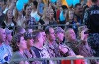 В Днепропетровске на трансляции матча «Днепр-Севилья» для бойцов АТО оборудовали специальную ложу