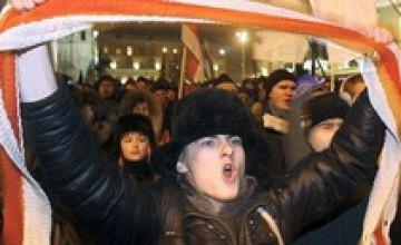 В Минске во время акции протеста задержали жителя Днепропетровска