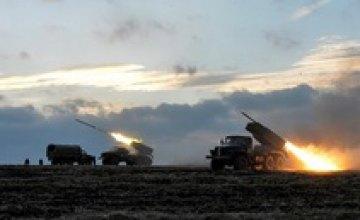 В Луганской области противник применил «Грады» против сил АТО