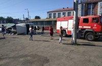 В Днепре грузовик загорелся после ДТП: есть пострадавшие (ФОТО)