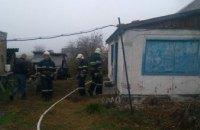 На Днепропетровщине произошел пожар в жилом доме: есть погибшие