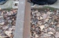 Крепления от железнодорожных путей в мешке: в Днепре пойман вор