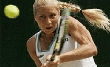 Украинская теннисистка Елена Бондаренко прошла первый тур