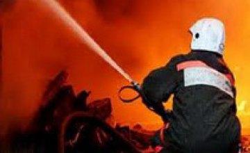 В Кривом Роге на пожаре погиб квартиросъемщик