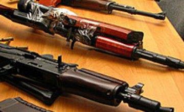 Днепропетровская милиция задержала торговцев оружием