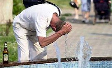 В Днепропетровской области продолжается жара