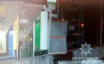 В Желтых Водах грабители бросили гранату и обстреляли сотрудников охранного агентства