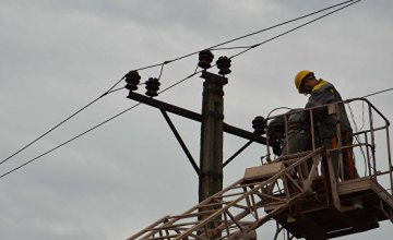 Энергетики ДТЭК Днепровские электросети работают в усиленном режиме для ликвидации последствий стихии