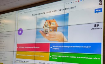 В Днепре провели интерактивно-интеллектуальную игру «Kahoot» ко Дню Конституции Украины