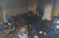 На Днепропетровщине мужчина погиб во время пожара в собственном доме (ФОТО)