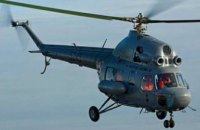 В Кременчуге во время учений потерпел крушение вертолет Ми-2
