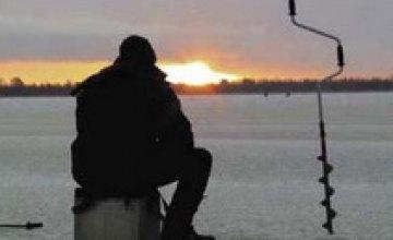 В этом году днепропетровские спасатели вышли на лед всего один раз