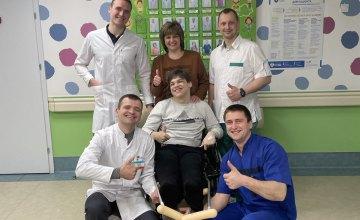 Программа «Деткам Украины - здоровые ножки». Ортопедические чудеса на Днепропетровщине