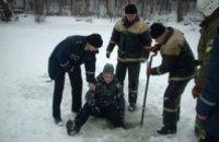 Жителям Днепропетровска посоветовали не ходить на зимнюю рыбалку