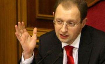 Арсений Яценюк может подать в отставку в случае распада коалиции