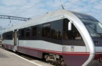 В Украине запустили первый рельсовый автобус в Польшу