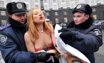 FEMEN заблокировали на Фейсбуке