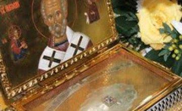 Крестный ход мощей Святителя Николая Чудотворца продолжится на Днепропетровщине до середины февраля