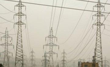 Днепропетровская область должна 1,1 млрд. грн. за электричество