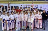 Днепровские спортсмены стали призерами Открытого чемпионата Европы по киокушин каратэ