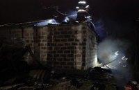 Ночью криворожские спасатели ликвидировали пожар в гараже (ФОТО)