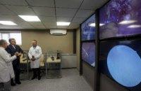 Специалисты областной больницы им. Мечникова презентовали Президенту Украины Центр инновационной хирургии (ФОТО)