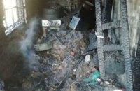 В Кривом Роге горел жилой дом: на месте ЧП обнаружено тело женщины