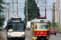 Сегодня в Днепре произойдут изменения в движении электротранспорта