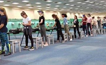 Сборная Днепропетровщины заняла второе место на чемпионате Украины по пулевой стрельбе