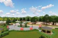 В Томаковке уже выполнили более трети работ по реконструкции парка