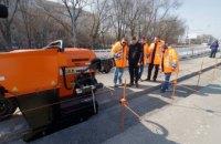 В Днепре для укладки бордюров впервые в Украине применили уникальную технологию монолитного отлива