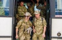 Цветы, сине-желтые флаги и слезы радости на глазах – в Днепропетровской области встречали 43-й батальон