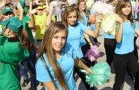 В Днепропетровске стартовал танцевальный марафон (ФОТО)
