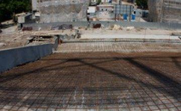 На новом стадионе «Днепра» началась финальная стадия работ