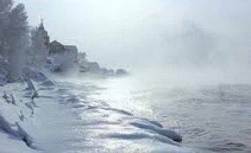 В Днепропетровске морозы продлятся до 10 февраля