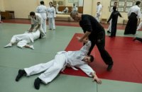 Двое АТОшников, которые тренируются на курсах от ДнепрОГА, получили белый пояс айкидо, - Валентин Резниченко