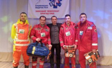 Лучшая в Украине бригада скорой помощи работает на Днепропетровщине