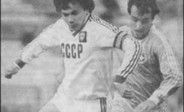 Футболисты «Днепра» отмечают олимпийский юбилей