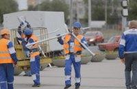 На Сичеславской Набережной в Днепре начали модернизацию уличного освещения