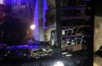 На Днепропетровщине сгорел торговый киоск (ФОТО)