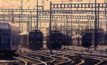 За 5 месяцев на украинской железной дороге произошло 46 ДТП