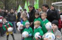 Юные футболисты Днепропетровска получили награды из рук Андрея Шевченко