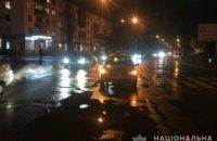 На Днепропетровщине легковушка сбила пешехода: разыскиваются свидетели ДТП