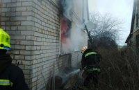 В Синельниковском районе при тушении пожара в частном доме обнаружили труп мужчины