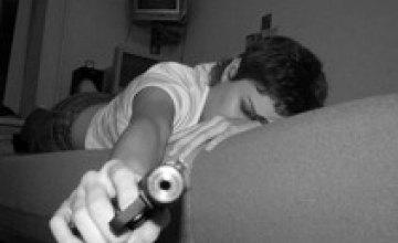 Милиция Днепропетровска изъяла у молодых людей огнестрельное оружие